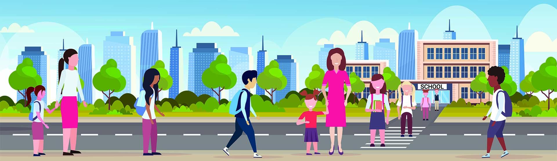 Banner Ouders met kinderen