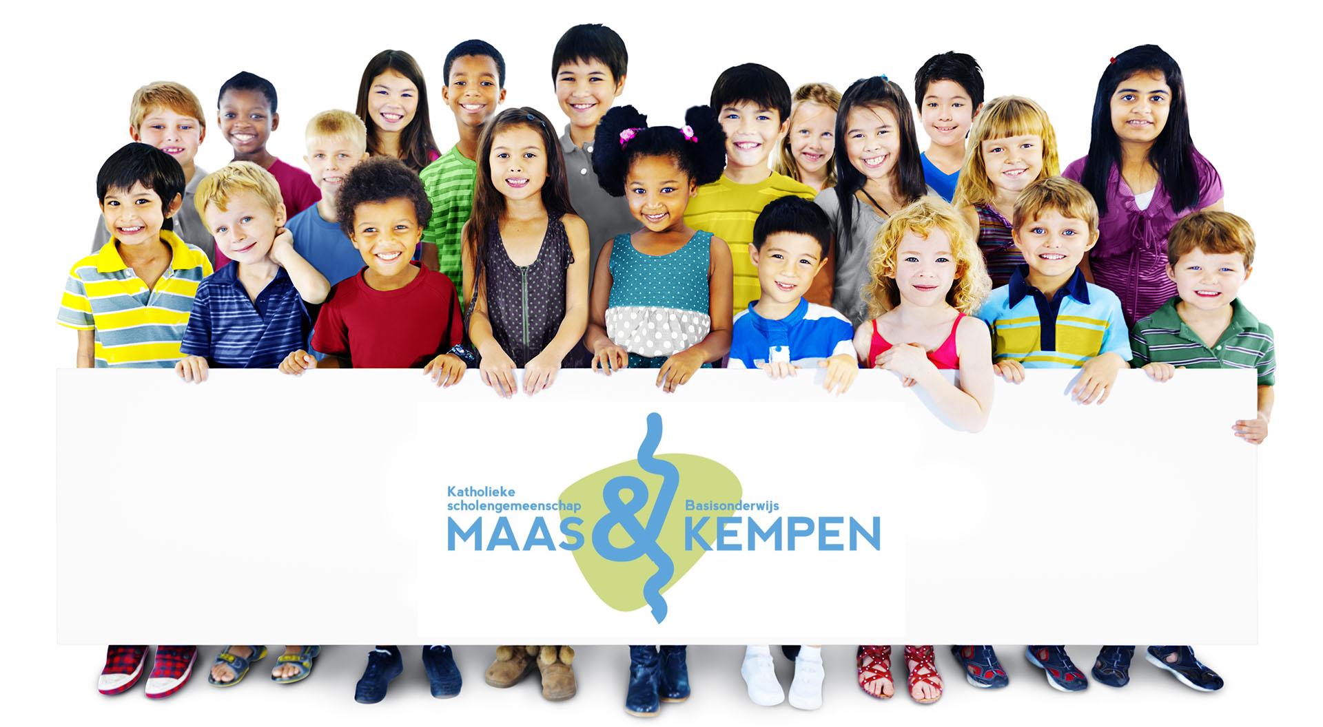Afbeelding van vele jonge kinderen