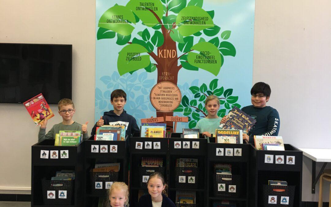 Gloednieuwe mobiele bibliotheek in 'De Boomgaard'
